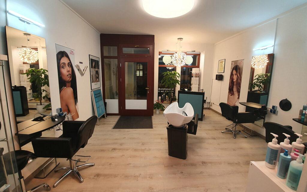 Friseursalon Louisenschere Dresdner Neustadt